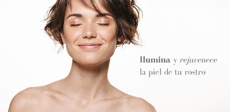 Efectos sobre la piel del rostro del LPG