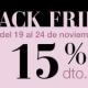 Black Friday: 15% de descuento en todos nuestros tratamientos*